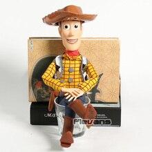 La historia del juguete hablando Woody PVC figura de acción modelo  coleccionabke juguete muñeca de navidad 8fcae4c04ef