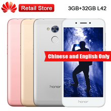 "Global Original Huawei Honor Play 6A 3GB RAM 32GB ROM L42 5.0"" Snapdragon 430 Octa Core 13.0MP Fingerprint 3020mAh Cellphone"