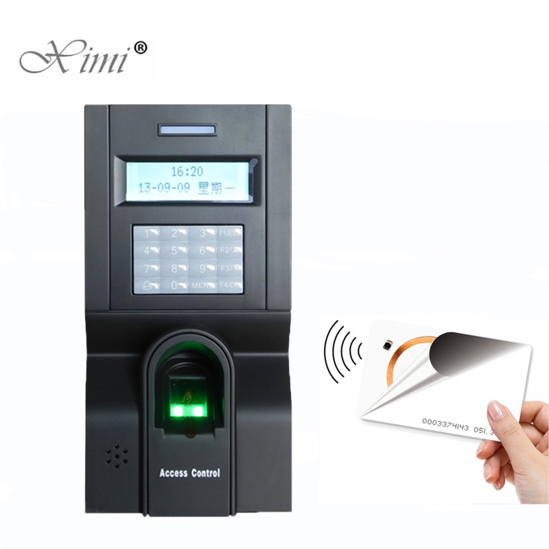 ZK F8 Linux System TCP/IP Biometric Fingerprint Access Control System And Time Attendance With 125KHZ RFID Card Reader ZK F8 Linux System TCP/IP Biometric Fingerprint Access Control System And Time Attendance With 125KHZ RFID Card Reader