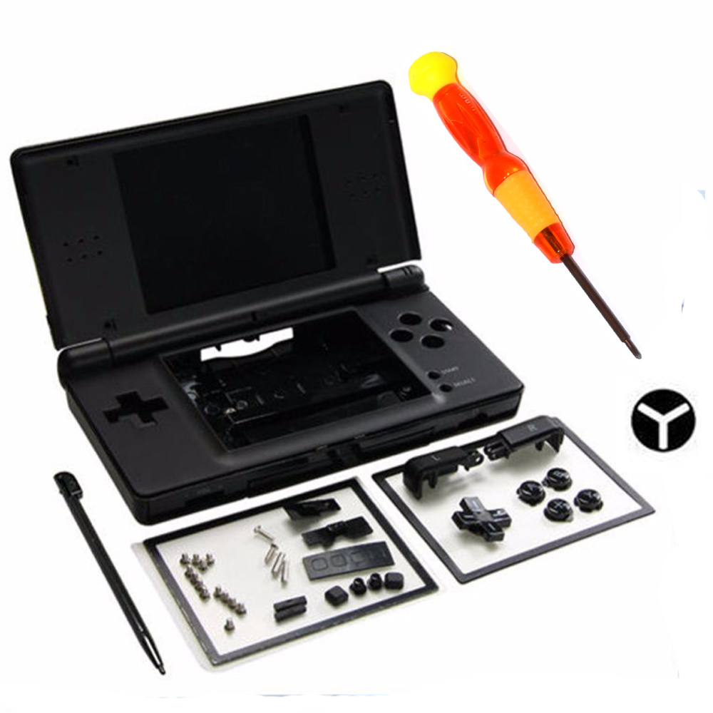 Full Repair Parts Replacement Housing Shell Case Kit With Screwdriver For Nintendo DS Lite NDSL 0322