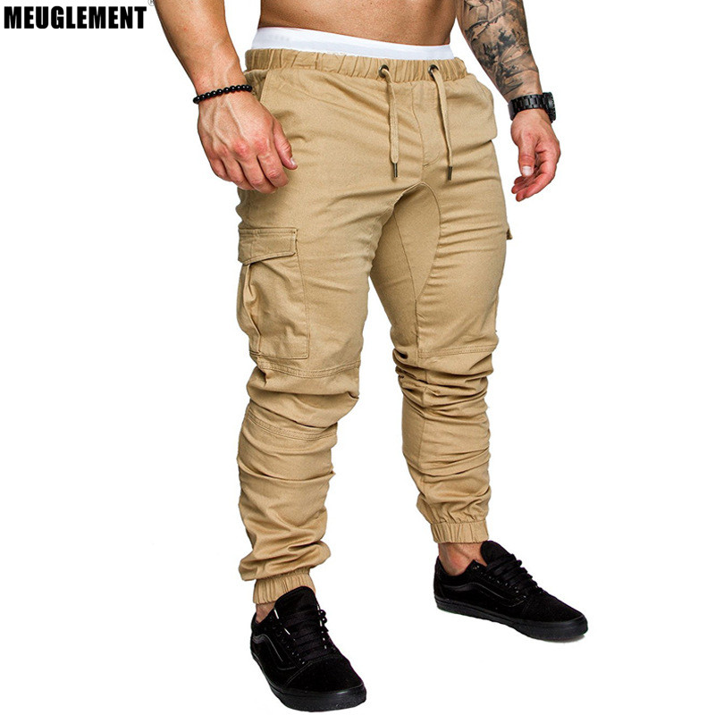 Men Pants New-Fashion Clothing Fitness for Runners Autumn