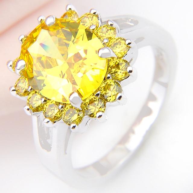 Promotion Jewelry Luckyshine Artistic Full Fire Zirconia Zirconia