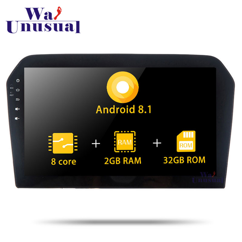 Autoradio Octa Core 10.1 Inch Android 8.1 Car GPS Navigation For <font><b>VW</b></font> <font><b>Jetta</b></font> 2013 2014 <font><b>2015</b></font> 2016 Stereo Car Radio With BT WIFI Map image