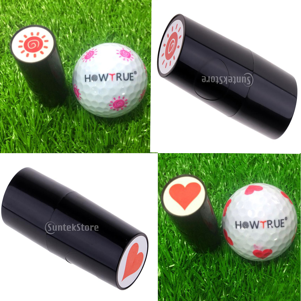 Personal Fast Drying Golf Ball Stamper Stamp Seal Impression Marker Print Gift Prize For Golfer Golf Training Aids