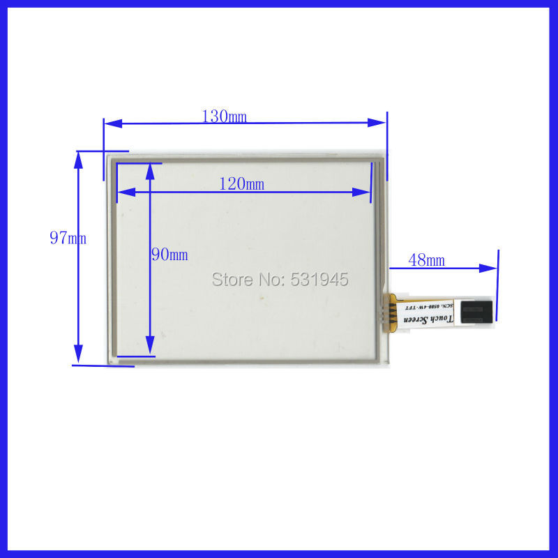 NEW 5 Inch Touch Screen 130*97 for 2777 for industry applications 130mm*97mm COMMERCIAL USE