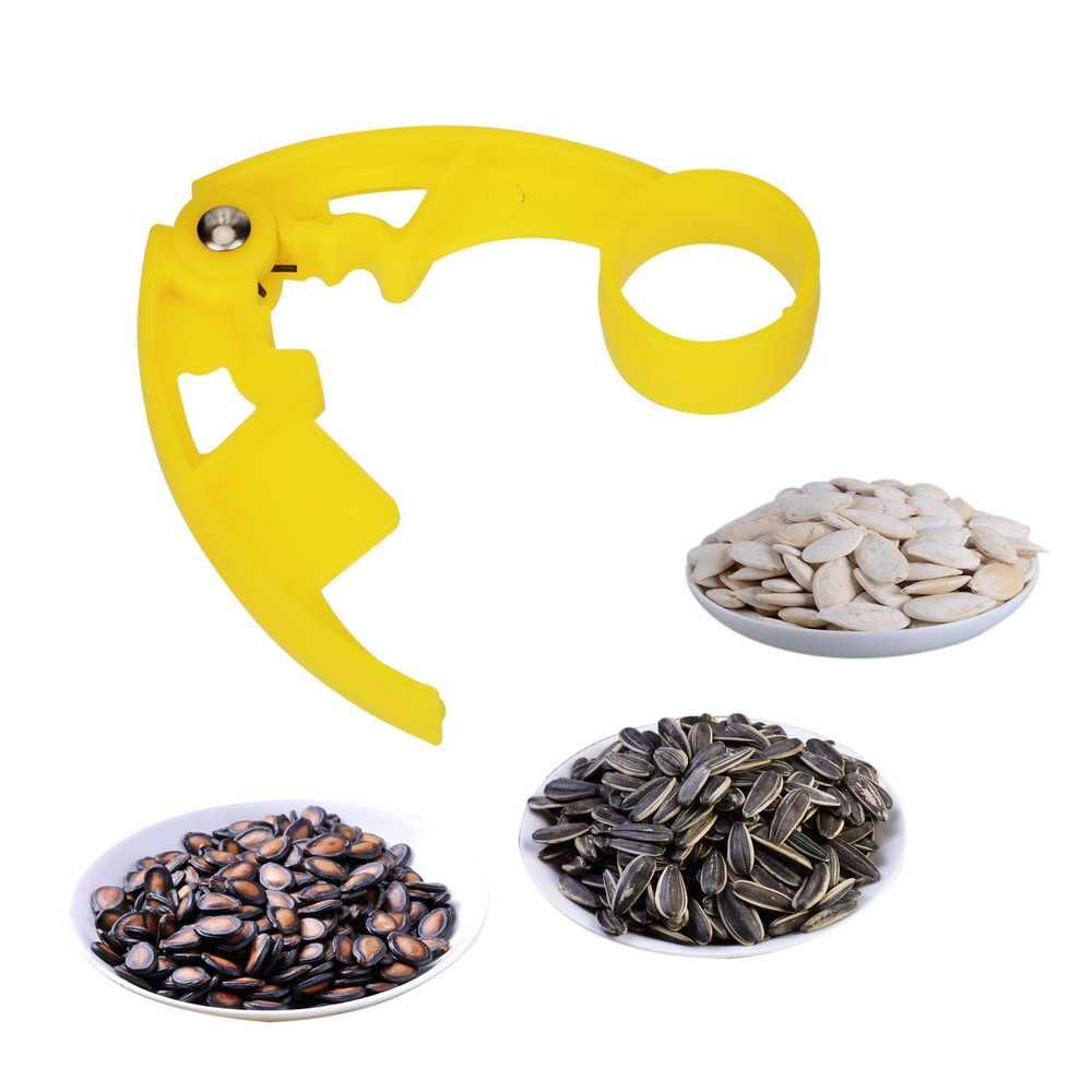 พลาสติก Nutcracker Nut Cracker เมล็ดแตงโม Plier Clamp Nut คลิป Pistachio Sunflower เมล็ด Peeler วอลนัท Pine Sheller เปิด