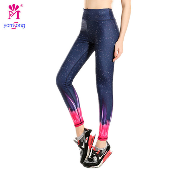 Yomsong 2016 New Fashion Women's Leggings Red Fuorescence Thin Hip Trouser Absorbent Breathable Long  Pants 883