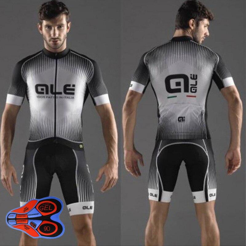 Crossrider ALE Cycling Jerseys 9D Bib Set MTB Shirt Mountain Bike clothing Bicycle Clothes Men Short Maillot Culotte Sports Suit