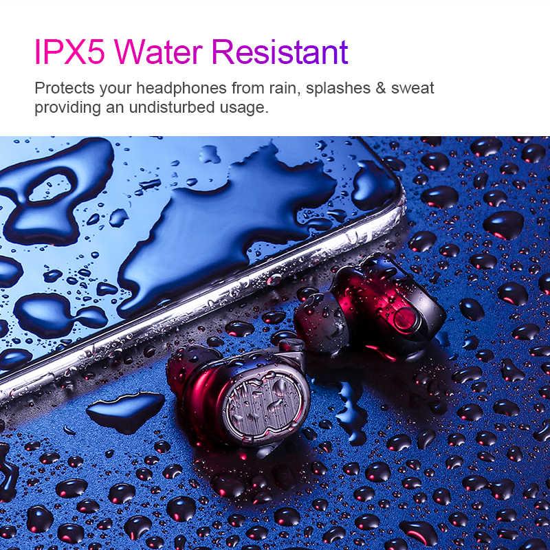 SANLEPUS наушники Bluetooth 5,0 СПЦ мини невидимый 3D hi fi стерео беспроводной гарнитура с запасные аккумуляторы для телефонов зарядки коробка