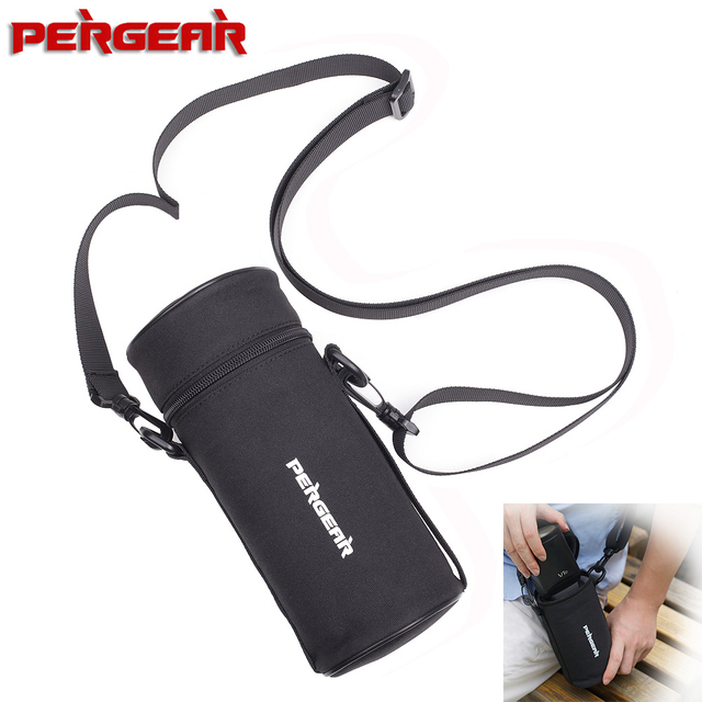 Pergear Durable Portable Bag Protective Case for Godox V1 V1C V1N V1S & Godox AD200 AD200Pro Speedlite Flash Light