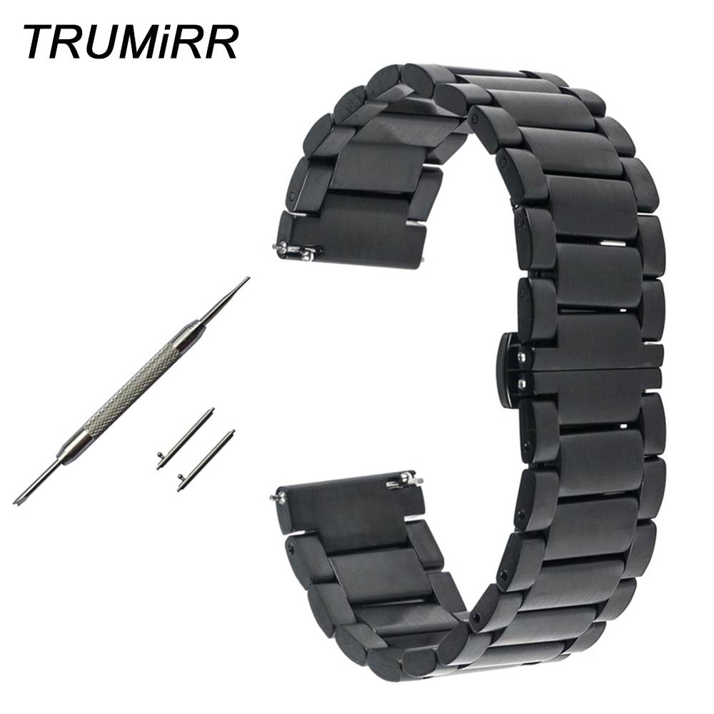 16mm 18mm 20mm 22mm Quick Release Watch Band for Tissot T035 T050 <font><b>PRC</b></font> <font><b>200</b></font> T055 T097 T099 Stainless Steel Strap Bracelet 4 Colors image