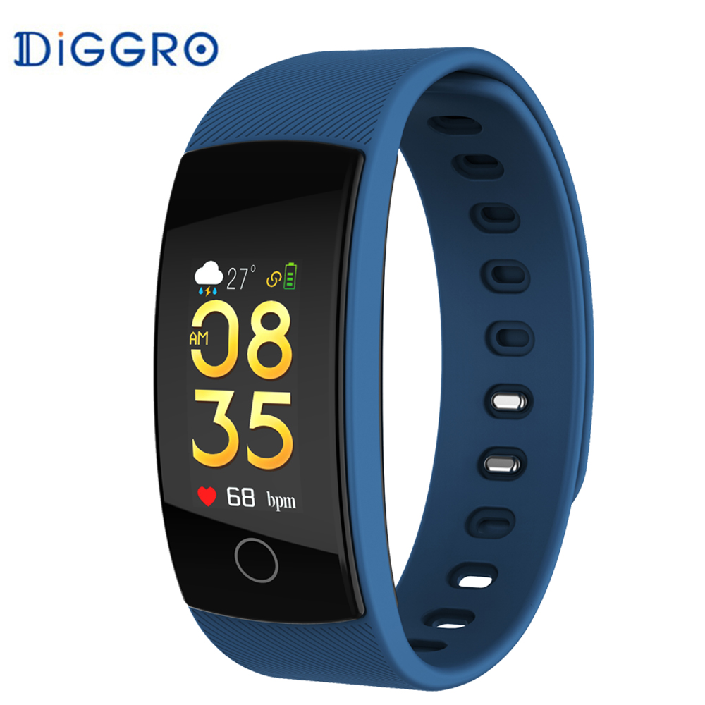 Diggro QS80 PLUS fitness armband smart armband blut sauerstoff herz rate blut fitness tracker wasserdichte PK QS90
