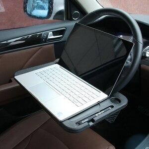 Image 2 - Xe Ô Tô Để Bàn Cà Phê Giá Đỡ Laptop Máy Tính Bàn Tay Lái Đa Năng Di Động Ăn Làm Việc Uống Ghế Khay Hàng Tự Động Phụ Kiện