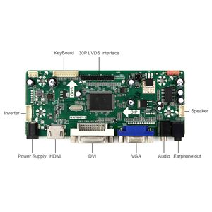 Image 3 - HDMI DVI VGA لوحة التحكم بحجم الصوت (لوحة للقيادة) صالح ل 23.6 بوصة 1920x1080: V236H1 LE2 V236H1 LE4 M236H3 LA2 M236H3 LA3