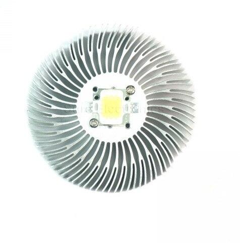 2 STKS 3/5/10 W high-power Zonnebloem circulaire Heatsink LED licht - Computer componenten - Foto 3