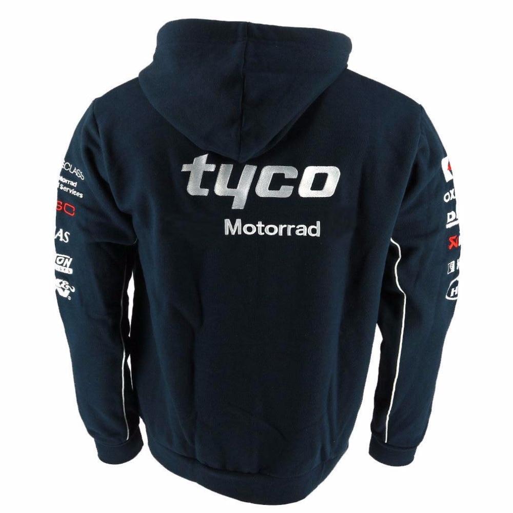2019 Motorrad Motorsport Motorcycle Jacket Tyco Racing Team Zip Hoody Adult Men 39 s Hoodie Sports Sweatshirt for BMW coat in Jackets from Automobiles amp Motorcycles