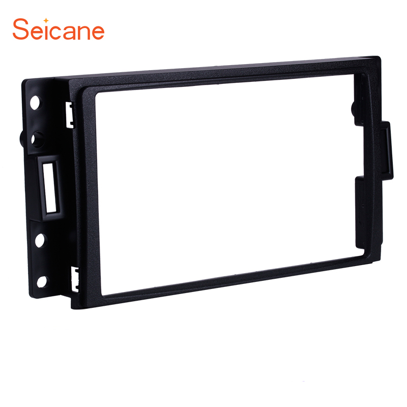 Diplomatic Seicane 2din Car Fascia Frame For Hummer H3 Chevrolet Corvette Buick Terraza Pontiac Montana Sv6 Saturn Relay Latest Technology