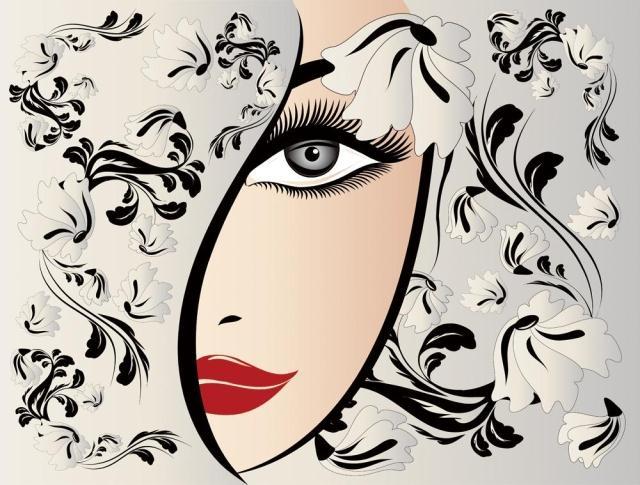 Us 968 50 Off3d Photo Wallpaper 3d Beauty Salon Wallpaper Texture Background Wall Mural Pattern Manicure Shop Wallpaper Mural In Wallpapers From
