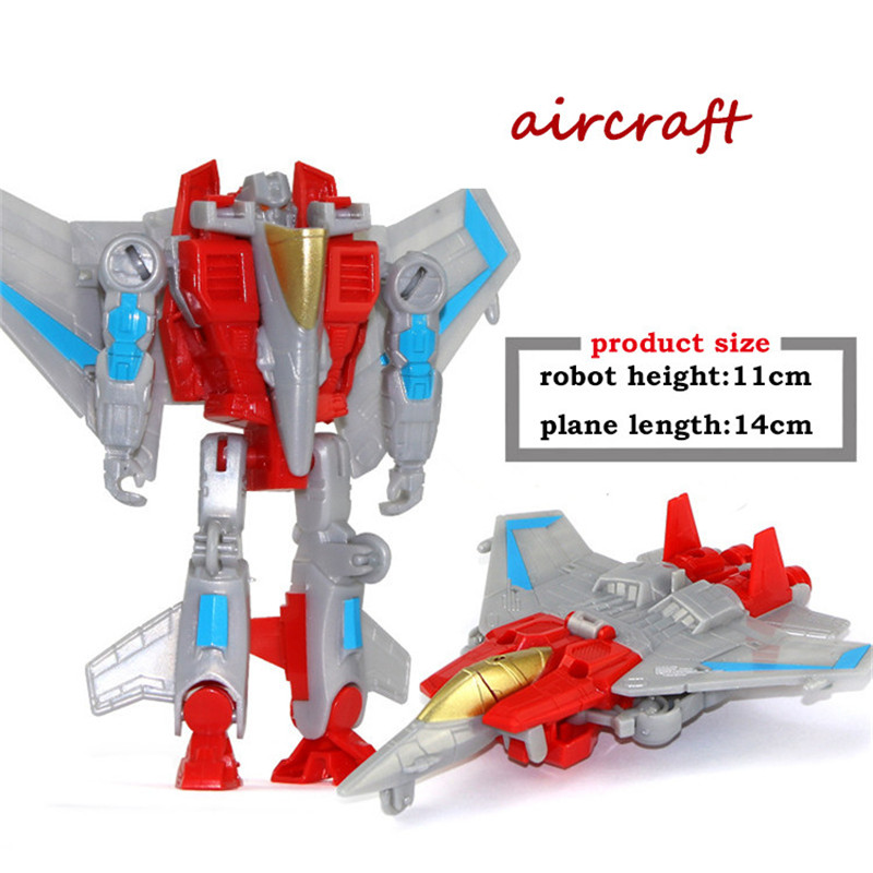 Car-Toys Transformation Robot Toy Figures Aircraft Plastic Children Education Education