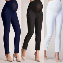 Stretch Leggings Clothing Maternidad Trousers For Pregnant Women Clothes Elastic Waist Maternity Pants Abdominal Pregnancy Jeans цены онлайн