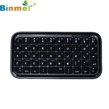 Binmer Mecall Mini Bluetooth Wireless Keyboard For iPad-Lapt