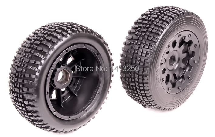 Baja, 5SC Front Wheel Set (2pcs),TS-H95100 , black available for baja parts with free shipping . mustang 6870 1603 160