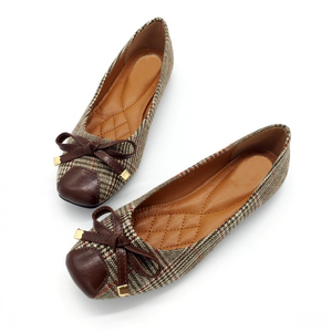 Image 2 - BEYARNE נעלי נשים בלט דירות נעליים להחליק על אביב סתיו רדוד אישה אחת נעלי גבירותיי נקבות עבודה הנעלה ZapatosE225