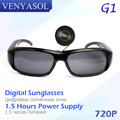 VENYASOL HD 720 P Digital Spy Солнцезащитные Очки Мини-Камера DVR Аудио Видео Действие Спорт Видеокамера cam Вождение Открытый Скрытые