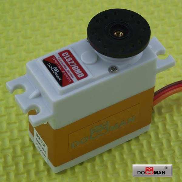 10 шт./партия DM-CLS270MD металлический редуктор без сердечника 76 г/0,12 с/27кг. см цифровой сервопривод дистанционного управления для arduino человекоподобный робот