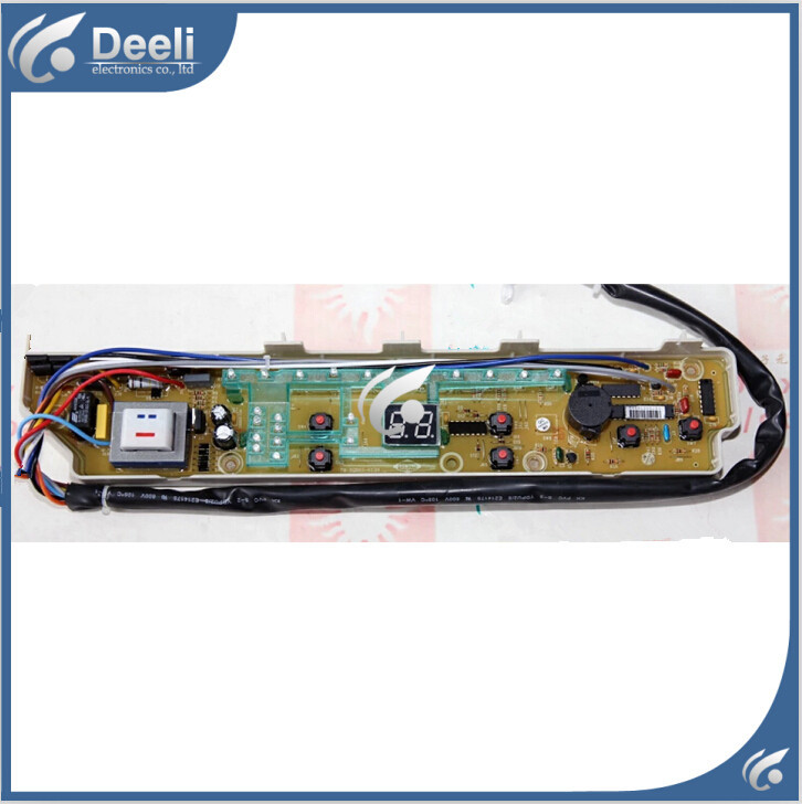 Free shipping 100% tested  for  washing machine board xqb65-s725 motherboard control board 11 line 6 key on sale 100% tested for washing machine board wd n80051 6871en1015d 6870ec9099a 1 motherboard used board