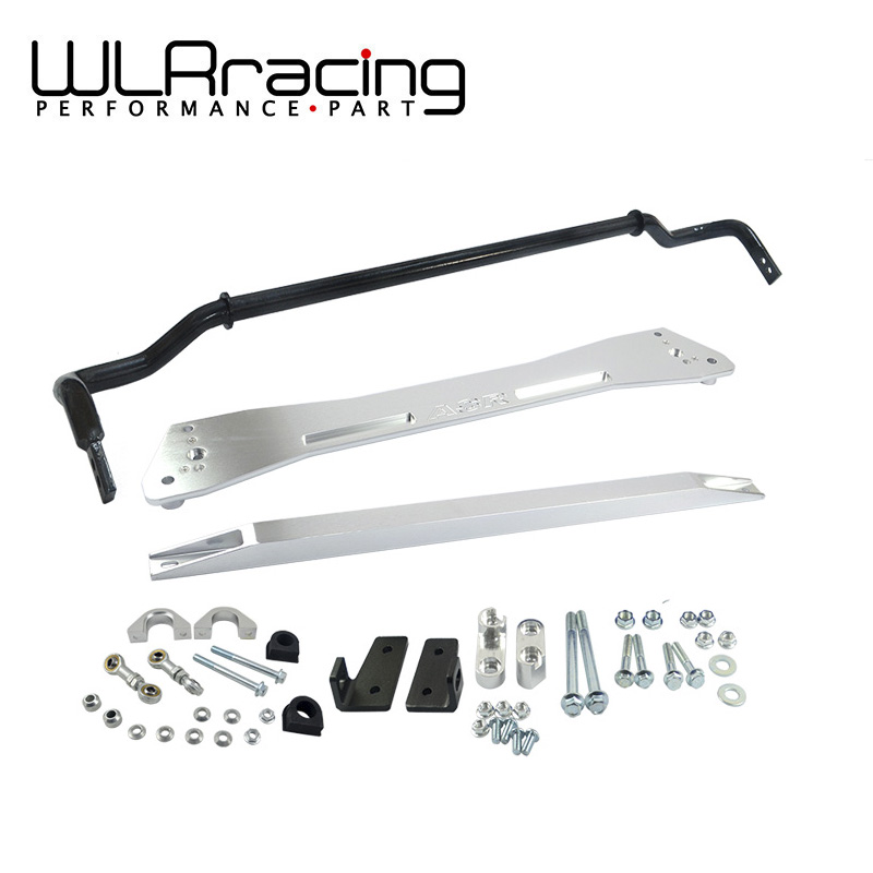 WLRING STORE-  NEW SWAY BAR FOR HONDA 92-95 EG SUB FRAME + LOWER TIE BAR + 24MM SWAY BAR FOR CIVIC INTEGRA 1994-2001 деталь шасси tansky epman honda civic 88 95 ep eg