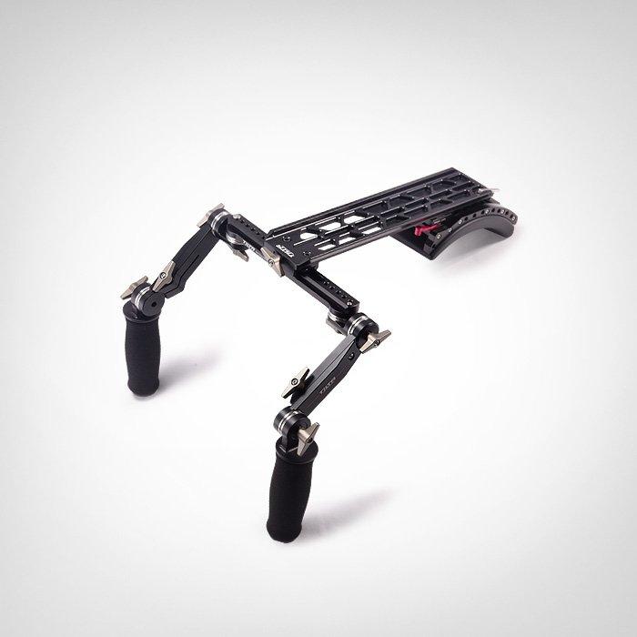 Nova TILTA TT-0506-15/19 15/19mm Universal Cauda de Andorinha Ombro Mount System para Filmadora frete grátis
