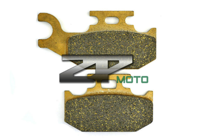56f8017c66bcd Organic Kevlar Brake Pads For ATV YXR 660 Rhino 2004-2007 Rear OEM New High  Quality