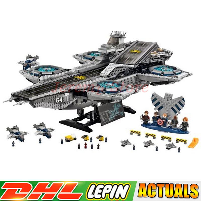 LP 3057Pcs 07043 Super Heroes The SHIELD Helicarrier Model Building Kits Blocks Bricks Toy Compatible legoings 76042