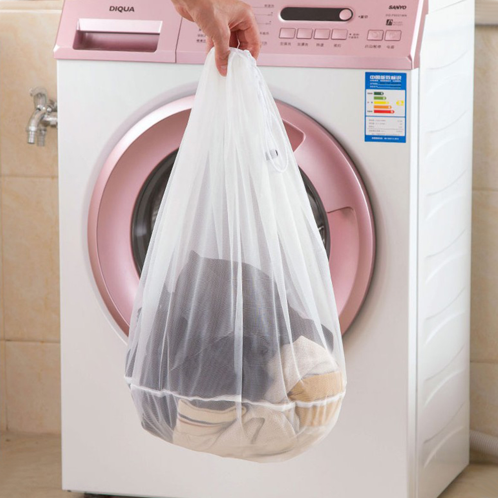 Image 5 - S M L Size Washing Laundry bag Socks Underwear Washing Machine ClothesClothing Care Foldable Net Filter Underwear Bra Protection-in Laundry Bags & Baskets from Home & Garden