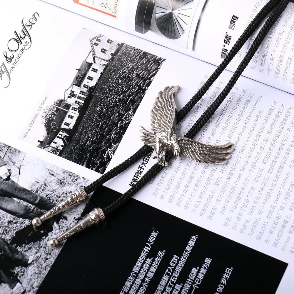 Bekleidung Zubehör Radient Mode Indische Adler Anhänger Bolo Tie Western Cowboy Schnürsenkel Tier Krawatte Krawatte Halskette Schmuck Für Männer Syt9388 Freigabepreis