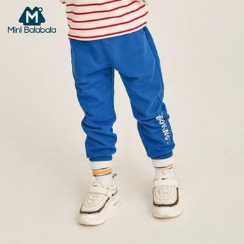Mini balabalaChildren clothing pants boys 2019 spring autumn models boys baby casual pants fashion 2