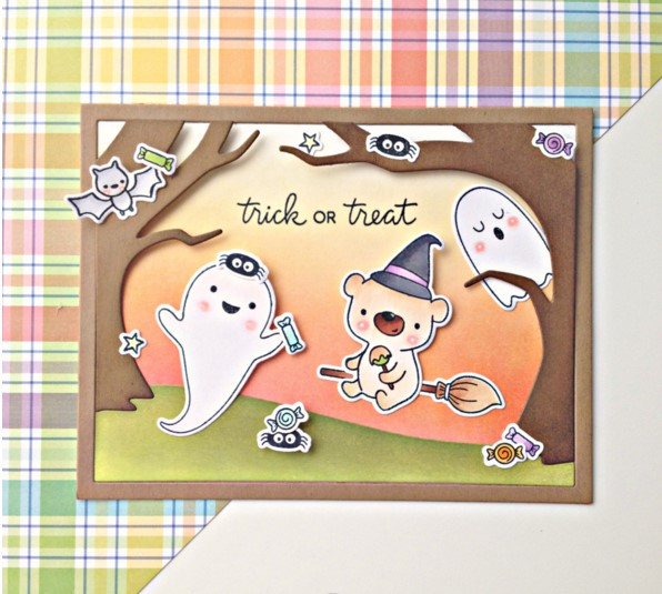 TPP Halloween Happy Little Soul Clear Rubber Stamps/kids Clear Stamps And Dies For Scrapbooking/card Making/cutting Dies