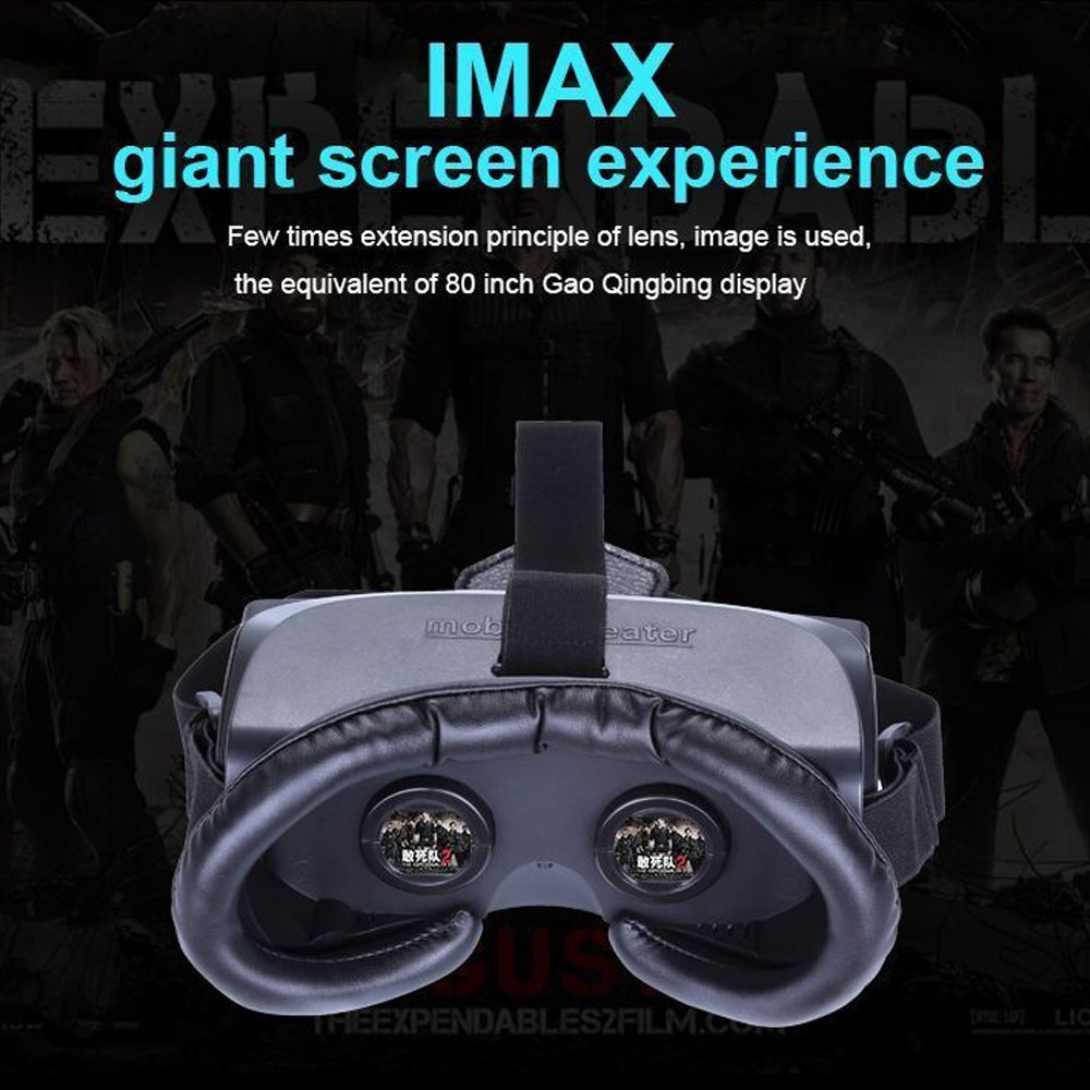 6804fee08479 VR BOX 3D Glasses Game Movie All in One Portable VR Virtual Reality Headset  3D Movie Game Glasses 1080P for PC PS4 360 XBOX-in 3D Glasses  Virtual  Reality ...