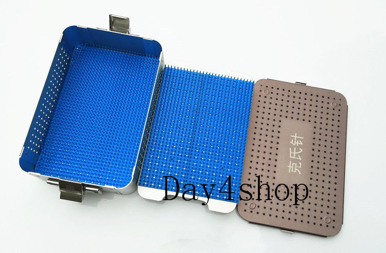 1set Kirschner wires pins Case Rack sterilization tray