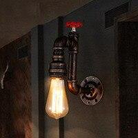 Loft Retro Light Creative Edison Lamp Iron Pipe Lamp Industrial Style wall lamps Vintage Wall Lamp Restaurant Art Deco Lighting