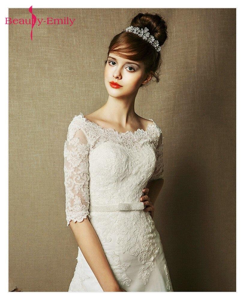 Ομορφιά-Emily White Υψηλής ποιότητας - Γαμήλια φορέματα - Φωτογραφία 3