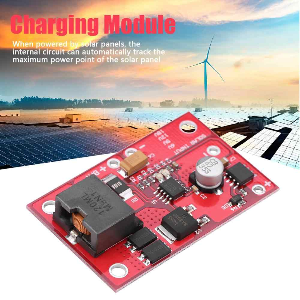 MPPT ソーラーパネルコントローラ充電モジュールため 12 12v 鉛蓄電池充電器 3A