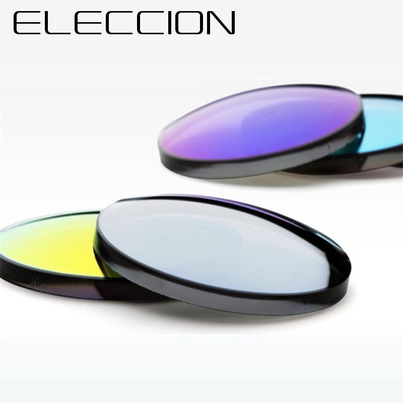 1.56 1.61 1.67 Index Optical Prescription Myopia Polarizing Sunglasses Lenses Anti UV with Anti Reflective Sun glasses Lens