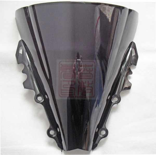New High quality For Yamaha YZF R6 2006 2007 06 07 ABS bike motorcycle motorbike Windshield Windscreen Black