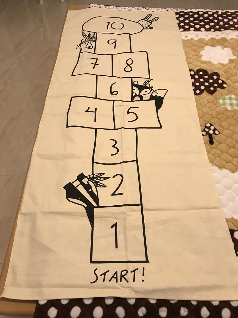 Baby Racing Games Adventure Room Decoration Play Mats Cotton Baby Games Carpet Newborn Bedding Toy Kids Gift Cartoon Mat Blanket