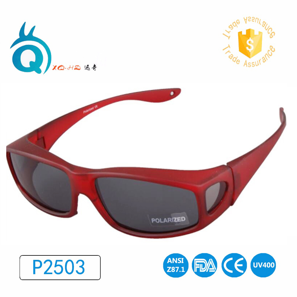 Wear Over Prescription Glasses For Woman Polarized Lens Covers type fishing Sunglasses