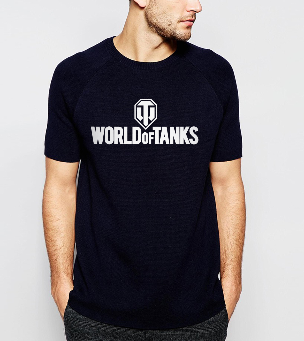 New Arrival War 2 World Of Tanks Print Men T-Shirt 2017 Summer Style 100% Cotton Comfortable Loose Fit Short Sleeve T Shirts