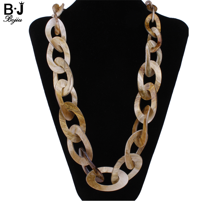 Round Plastic Link jewelry long necklace colors new 2017 fashion quality Acrylic jewelry NK1007Round Plastic Link jewelry long necklace colors new 2017 fashion quality Acrylic jewelry NK1007