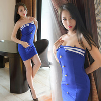 2019 New Air Force Costplay Flavor Uniform Game Flavor Underwear cosplay Sexy stewardess Seductive and attractive
